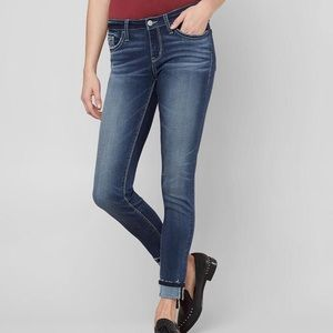 Daytrip Lynx Ankle Skinny Medium Wash Jeans 26